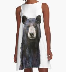 Black Bear A-Line Dress