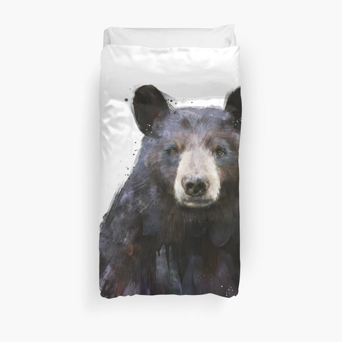 Black Bear by Amy Hamilton