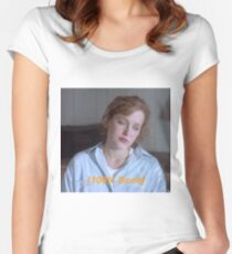 Dana Scully is So Done  Women's Fitted Scoop T-Shirt