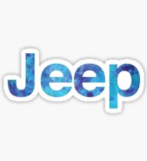 Jeep Tye Dye Sticker