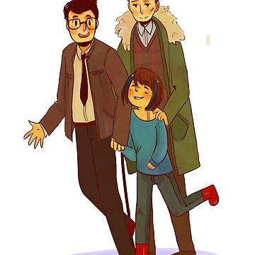 Newton and Hermann (and Mako!)  by mrnecessary