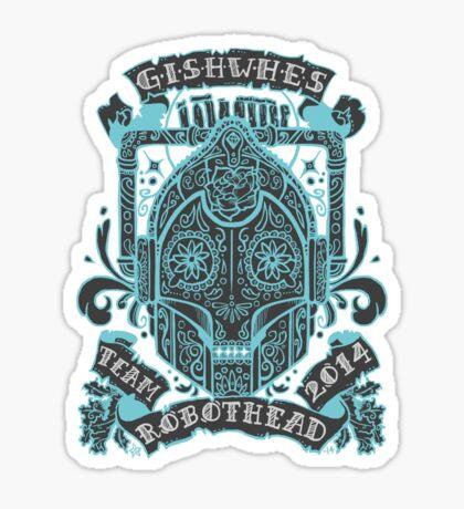 TEAM ROBOTHEAD Sticker