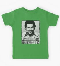 Escobar Mugshot Kids Clothes