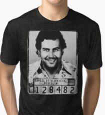 Escobar Mugshot Tri-blend T-Shirt