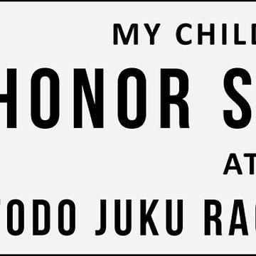 Todo Juku Honor Roll by op4or