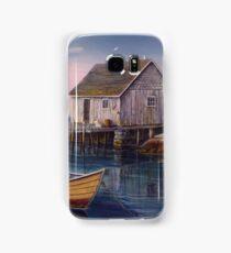 Peggys Cove Sunset Samsung Galaxy Case/Skin