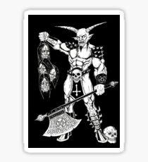 Goatlord Hero Sticker
