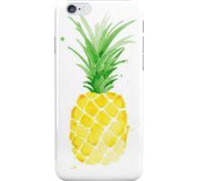 Watercolor Pineapple iPhone Case/Skin