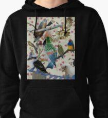 Pretty Birdies Pullover Hoodie