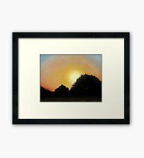Empty Skies Framed Print