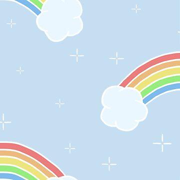 Rainbow Pattern by yesofclarry