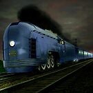 Blue Express by Steven  Agius