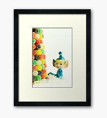 Belle the Pixie Elf Framed Print