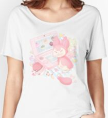Pastel Skitty Women's Relaxed Fit T-Shirt