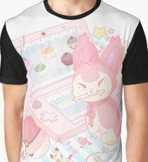 Pastel Skitty Graphic T-Shirt