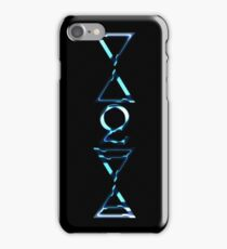 EARTH, AIR, FIRE, WATER, SPIRIT V  - midnight water iPhone Case/Skin