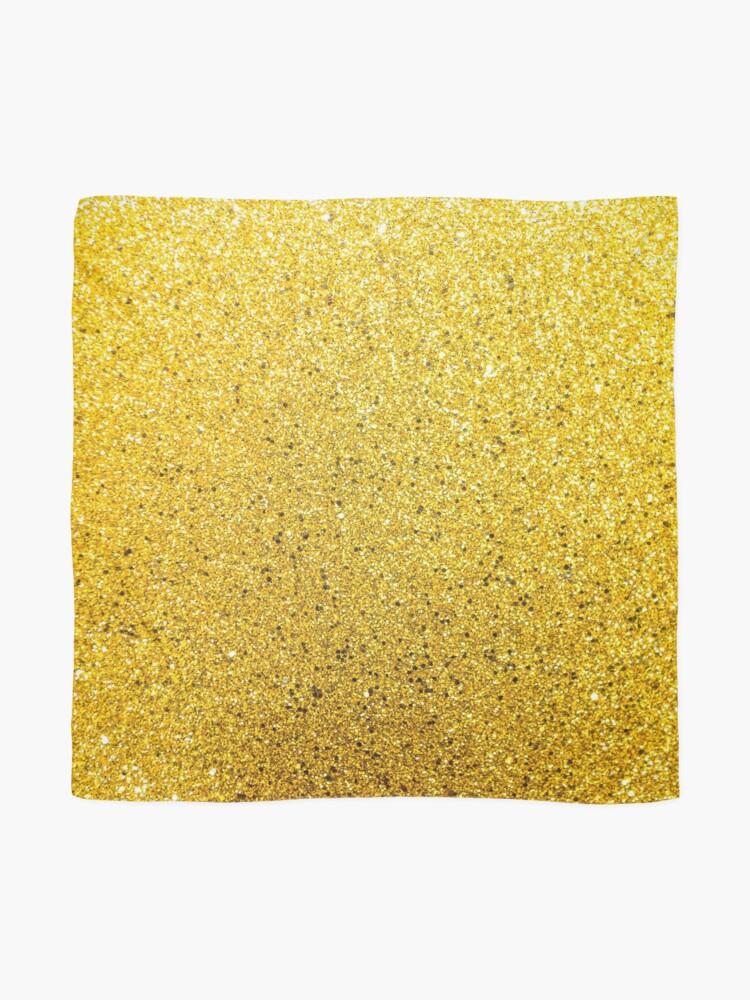 Alternative Ansicht von Sonnenschein Glittery Golden Sparkle Tuch