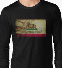 New california republic grunge Long Sleeve T-Shirt