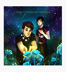 Dan & Phil - Undertale Photographic Print
