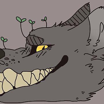 Weird Wolf Head by ATinyShadow