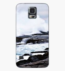 Ferocious Ocean -- Peggy's Cove, Nova Scotia Case/Skin for Samsung Galaxy