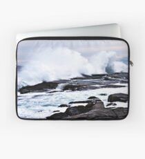 Ferocious Ocean -- Peggy's Cove, Nova Scotia Laptop Sleeve