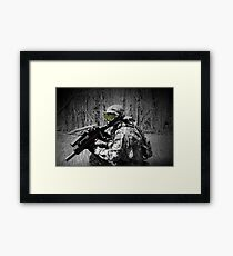 Paintballer Framed Print