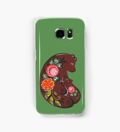 Mama bear and baby bear Samsung Galaxy Case/Skin