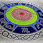 Zodiac Compass ~ sidewalkart by VicTOr Fraser by ©The Creative  Minds