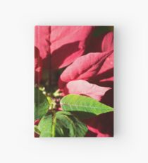 Green and red Hardcover Journal