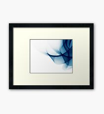 Modern Abstract Background Framed Print