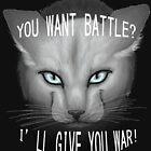 «Gatos guerreros: cielo despejado» de Kara Hatton