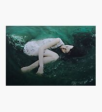And the ocean loved her back Photographic Print