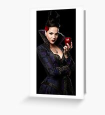 Lana Parrilla- Apple Greeting Card