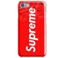 Supreme iphone cover iPhone Case/Skin