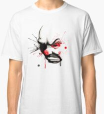 Clown Bank Robber Splatter Classic T-Shirt
