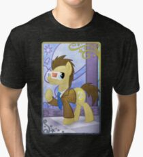 Dr Whooves at the Gala Tri-blend T-Shirt
