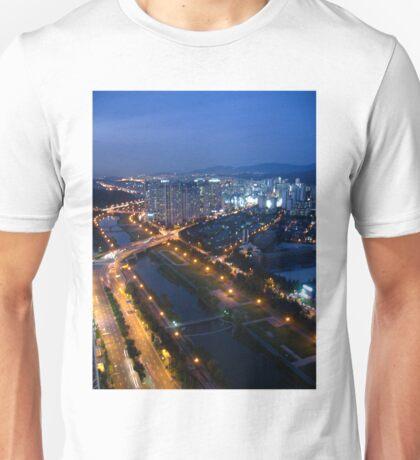 Tancheon River After Dark T-Shirt