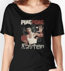 THE PING PONG MASTER Women's Relaxed Fit T-Shirt