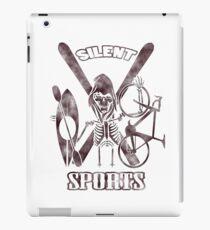 Silent Sports iPad Case/Skin