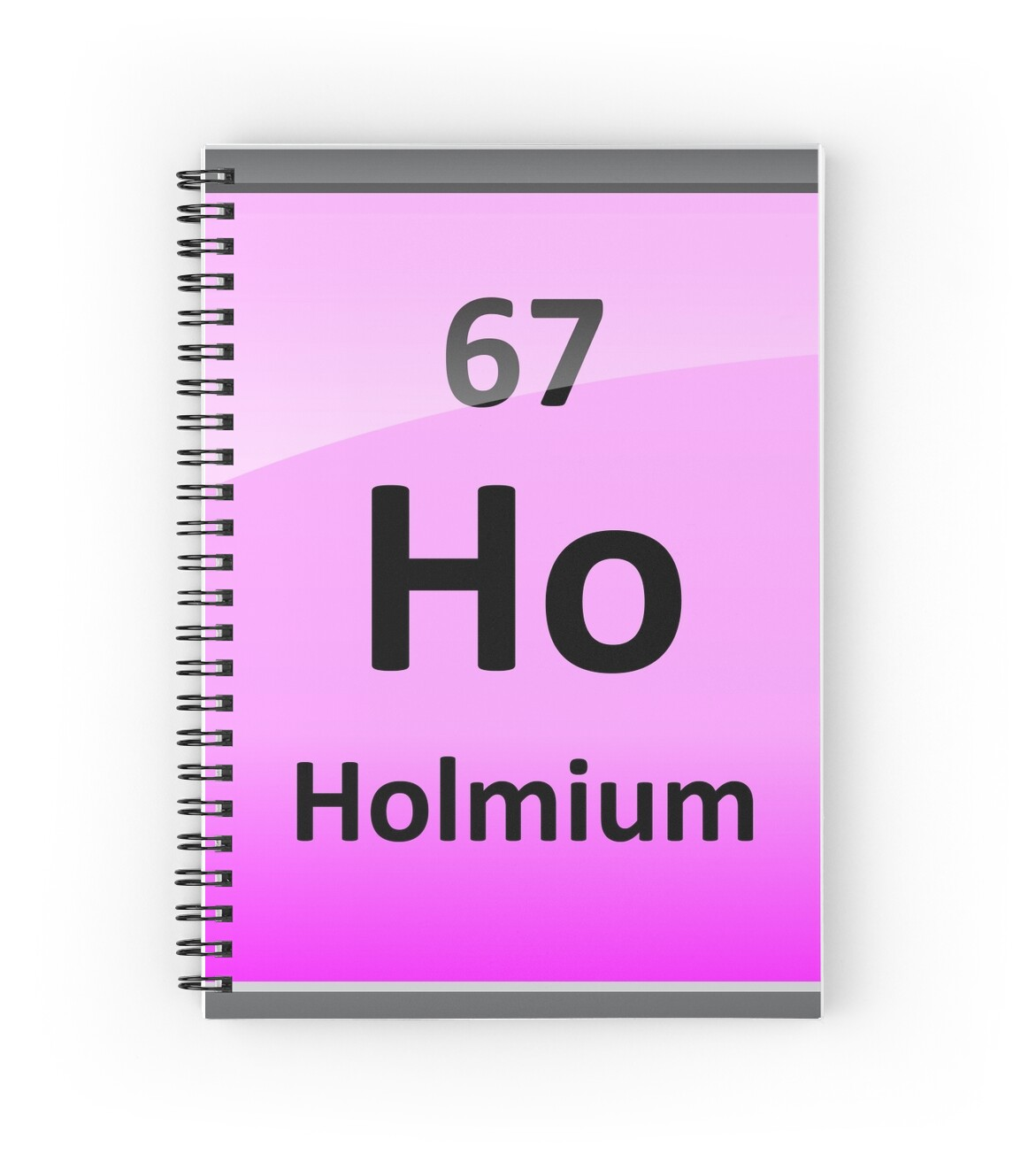 Holmium or ho periodic table element symbol spiral notebooks by holmium or ho periodic table element symbol by sciencenotes gamestrikefo Gallery