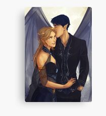 Feyre and Rhysand Canvas Print