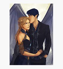 Feyre and Rhysand Photographic Print