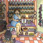 Fat Girl in a Sweet Shop by Laura Hutton