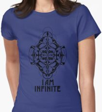 I AM INFINITE t-shirt Women's Fitted T-Shirt