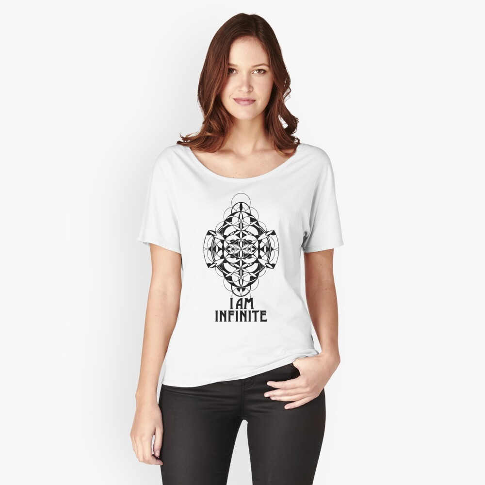 I AM INFINITE t-shirt Women's Relaxed Fit T-Shirt Front