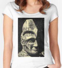 Head Sculpture Women's Fitted Scoop T-Shirt