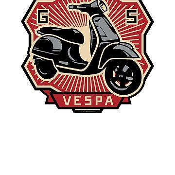 Vespa GTS by DoubleGood