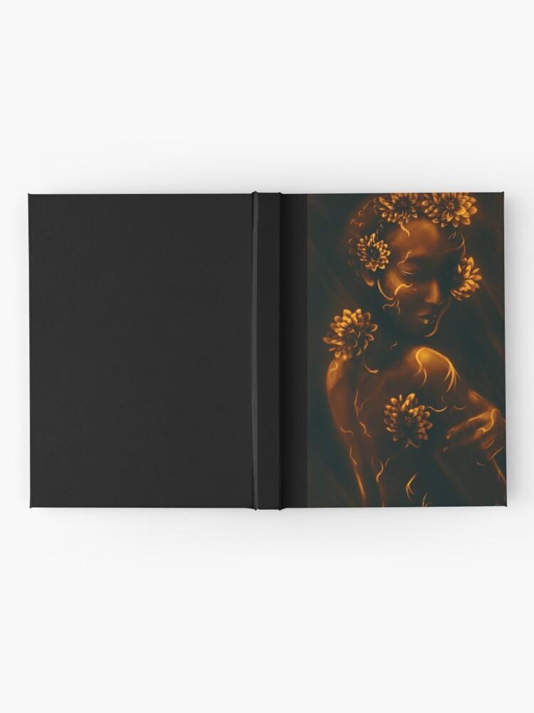 Alternative Ansicht von Chrysantheme Notizbuch