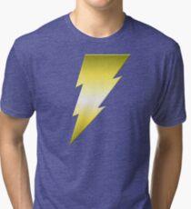 Golden Thunderbolt Tri-blend T-Shirt
